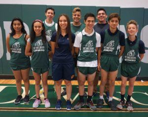 Da Vinci cross country team