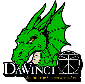 Da Vinci Dragons athletics logo