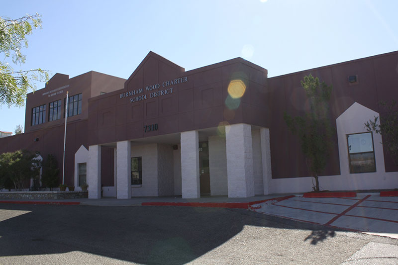 Photo of the Howard Burnham Elementary campus